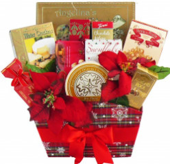 Christmas Cookie Gift Baskets, Boxes, Towers & Jars