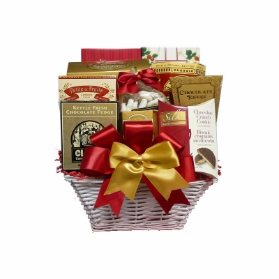 The Sweet Life Christmas Cookie Basket is available on Amazon.