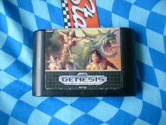 The Game Cartridge Golden Axe 2