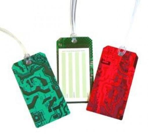 Circuit Board Luggage Tag Set