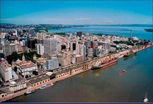 Porto Alegre - Capital of Rio Grande do Sul State