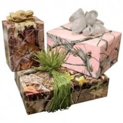 Camouflage Ribbons, Bows & Wrapping Paper