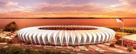 New Corinthians Stadium - Sao Paulo Capacity: 62,000