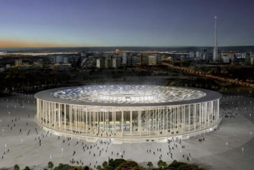 National Stadium of Brasilia - BrasiliaCapacity: 71,500