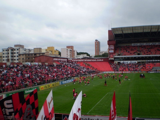 Stadium Arena da Baixada - CuritibaCapacity: 41,375