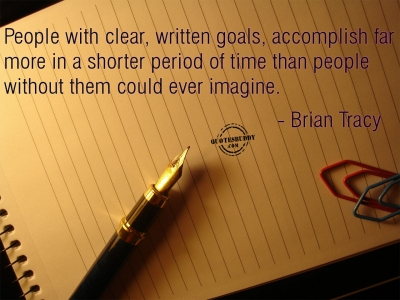 Are your goals clear?