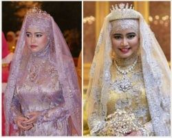 Princess Hafizah wedding dress