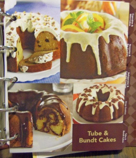 Tube cakes,  Bundt cakes and rolls.