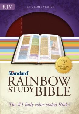 KJV Standard Rainbow Study Bible (imitation leather)