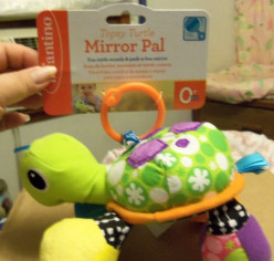 Topsy Turtle Mirror Pal by Infantino