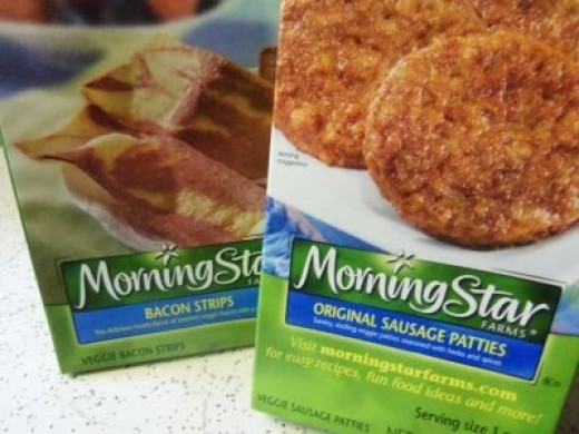 A bit of flavor ... Try adding Morning Star veggie sausage or bacon for a spicy flavor. Tastes great!