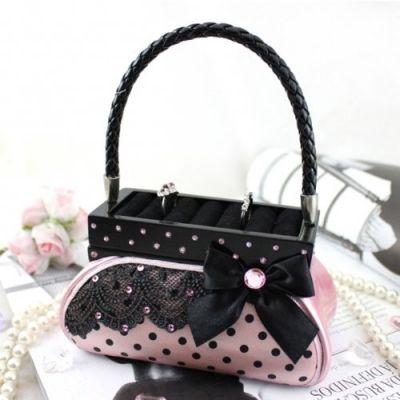 Polka Dot Handbag Ring Holder Available on Amazon