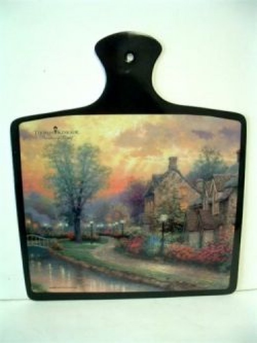 Buy Kinkade Serving tray here at Amazon