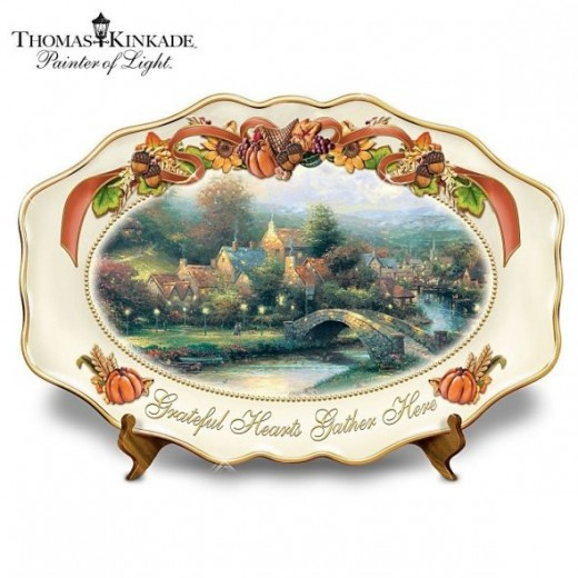 Click to buy Kinkade Platter here on Amazon