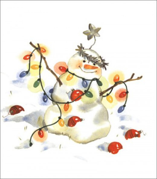 Image credit by Amazon of The Mitford Snowman
