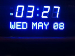 DBTech Digital Big Calendar Clock