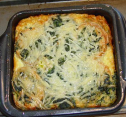 Breakfast strata by wikipedia.org