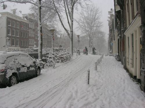 In december 2010 we had a lot of snow