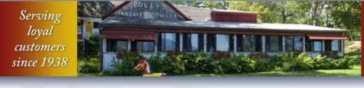 Polly's Pancake Parlor in Sugar Hill, NH