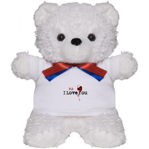 Click on teddy bear to buy from Amazon