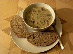 wilde mushroom soup