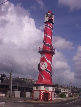 Port of Spain Lighthouse in one of its many incarnations