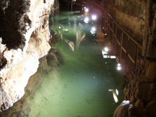 Underground Lake Grotte De Limousis
