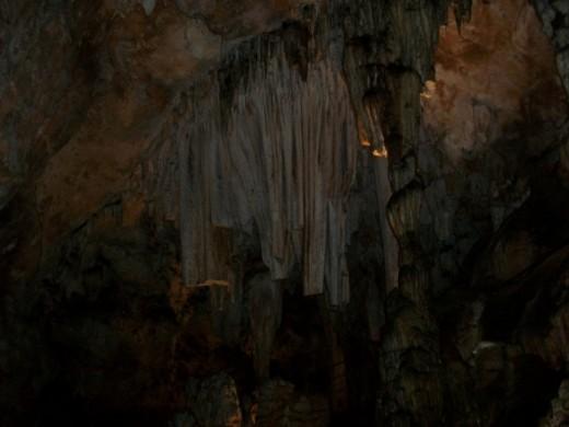 Broken Columns Grotte De Limousis