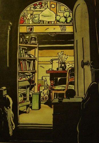 Synco's Art Studio at the attick in Dordrecht