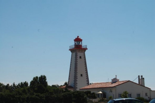 The ancient lighthouse at Le Cap Leucate