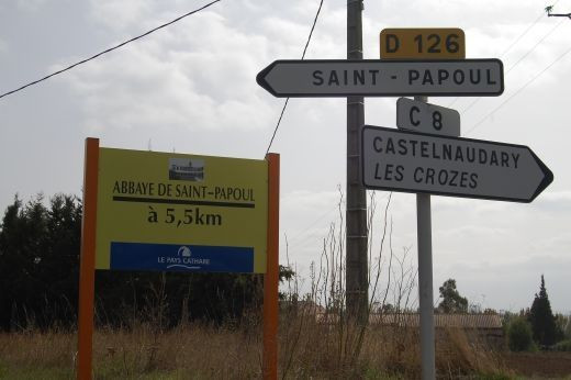 Issel is the neighbouring village to St Papoul and a little way from the Minervois