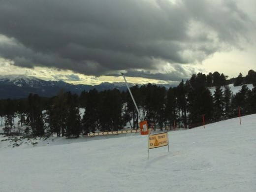 On the piste again