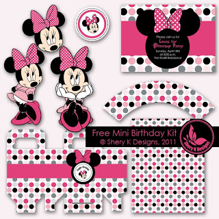 graphic relating to Minnie Mouse Printable titled Minnie Mouse Social gathering Programs and No cost Printables Holidappy