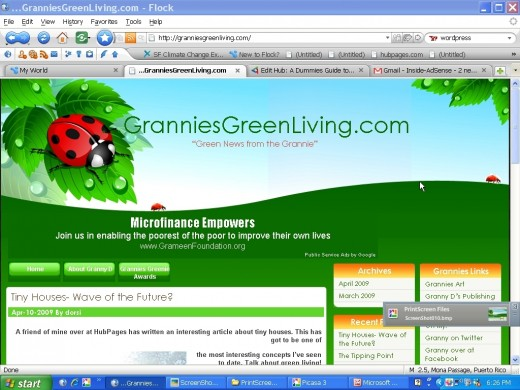 I absolutely love the new template for Grannies Green Living. The colors and vibe are exactly what I was looking for for my readers.