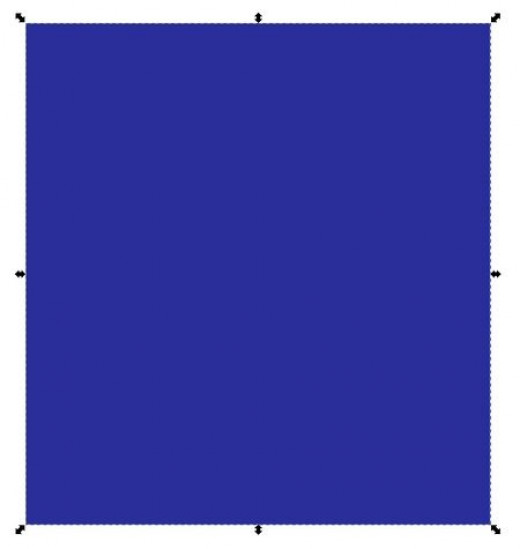 blue-square-picture