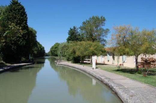 Canal Du Midi - Bram France