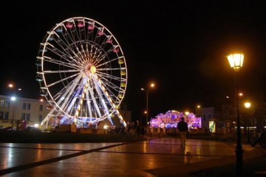 Christmas wheel Carcassonne