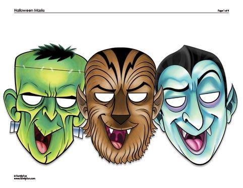 Dracula, Frankenstein, and Werewolf