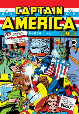 The first issue of Captain America.
