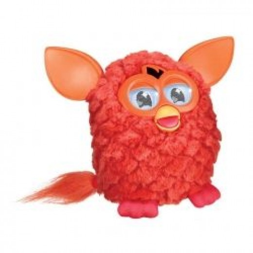 Red Furby Being Cute!