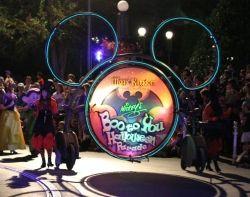 Boo to You Parade at Mickey's Not So Scary Halloween Party (Disney World / Magic Kingdom)