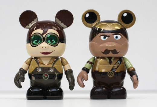 I'm not really into the Vinylmation trend but these are kind of cute.