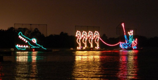 Disney World - Electric Water Pageant
