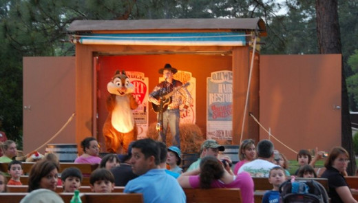 Campfire Sing Along at Disney's Fort Wilderness Campground