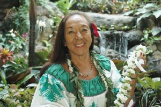 Auntie Kau'l Brandt is a cultural ambassador at Disney's Polynesian Resort Hotel in Florida
