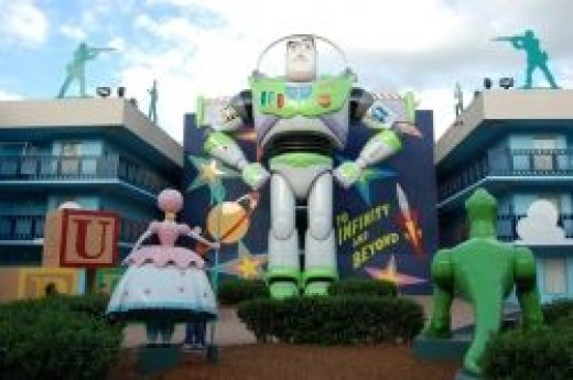 Buzz Lightyear at Disney's All-Star Movies Resort