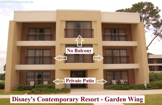 Disney's Contemporary Resort - Garden Wing