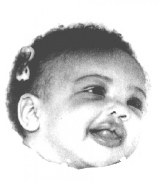 A baby picture of me.
