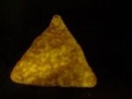 A close-up of (modern) Taco Dorito.