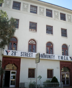 28th Street YMCA in South Los Angeles